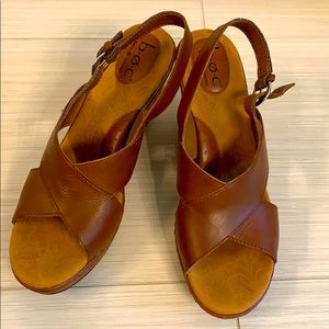 boc by Born size 11 brown wedges